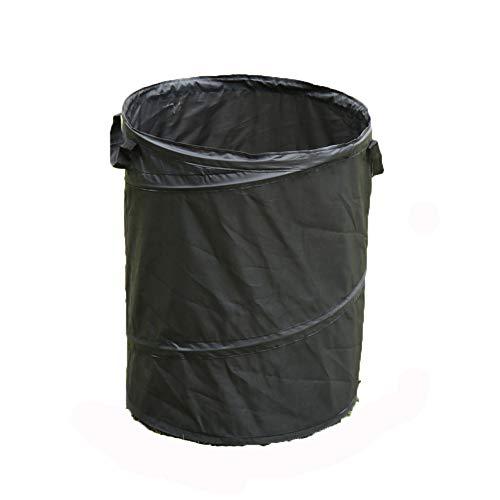 WYYZY 2 Piezas de Bolsas de Basura Plegables para jardín 63L, Tela Oxford, fácil de Limpiar, Reutilizable, Utilizada para Acampar en la Basura del Patio de Picnic