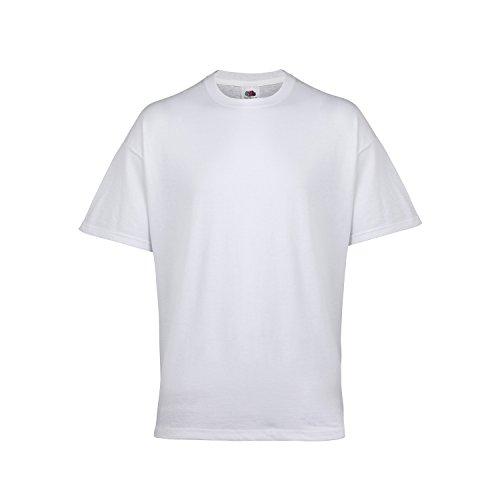 Fruit van de Loom Mens Belcoro Katoen Ondergoed T-Shirt (Pack van 3)