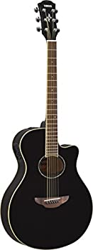 Yamaha APX600 BL Thin Body Acoustic-Electric Guitar Black