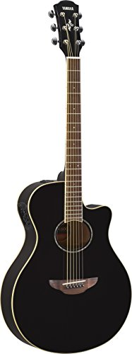 top rated Yamaha APX600 BL Acoustic Electric Guitar, Thin Body, Black 2020