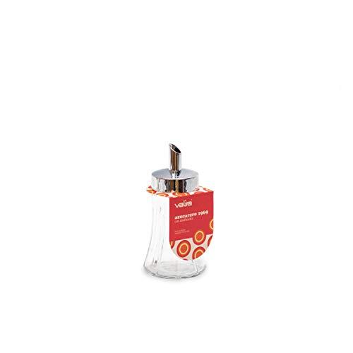 Valira Mesa Services - zuccheriera cromata da 0,25 L prodotta in Spagna, 17x8x8