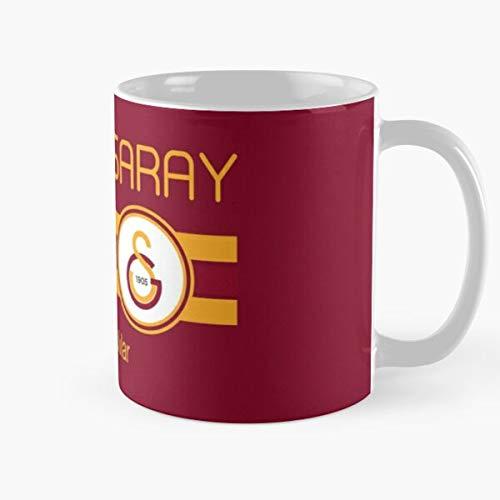 Super Turkish Football Sari League Soccer Lig Turkey Kirmizililar Galatasaray S眉per Best 11 oz Kaffeebecher - Nespresso Tassen Kaffee Motive