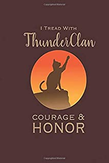 Thunderclan: Pride Notebook, Journal for Writing, Size 6