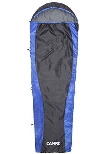 CAMPZ Trail Light slaapzak zwart/blauw uitvoering Left Zipper 2020 Quechua slaapzak