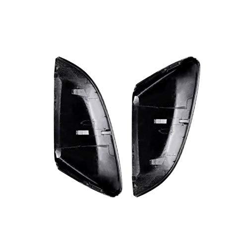 SIWJ Cubierta Espejo Puerta Tapas De Cubierta De Espejo Retrovisor Lateral Aptas para Civic 10th Generation 2016-18 Carcasa De Espejo Retrovisor Exterior Tapa De Cubierta De Espejo De Puerta
