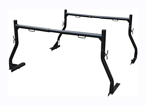 MAXXHAUL 50241 Adjustable Steel Pick Up Truck Ladder Utility Racks-Pair