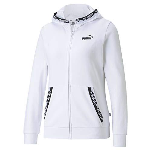 Puma Amplified - Giacca con cappuccio da donna Puma White XS