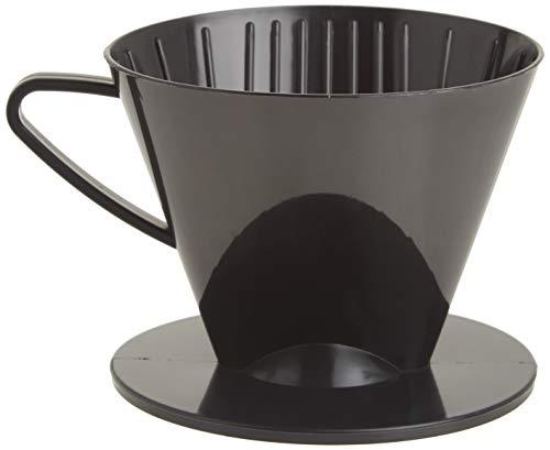 Harold Import Co 2662 HIC - Cono de filtro de café, plástico, color negro