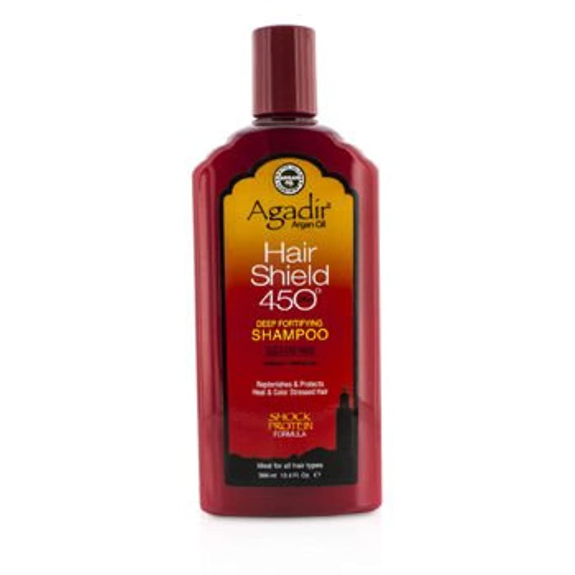 ダメージ社説協力する[Agadir Argan Oil] Hair Shield 450 Plus Deep Fortifying Shampoo - Sulfate Free (For All Hair Types) 366ml/12.4oz