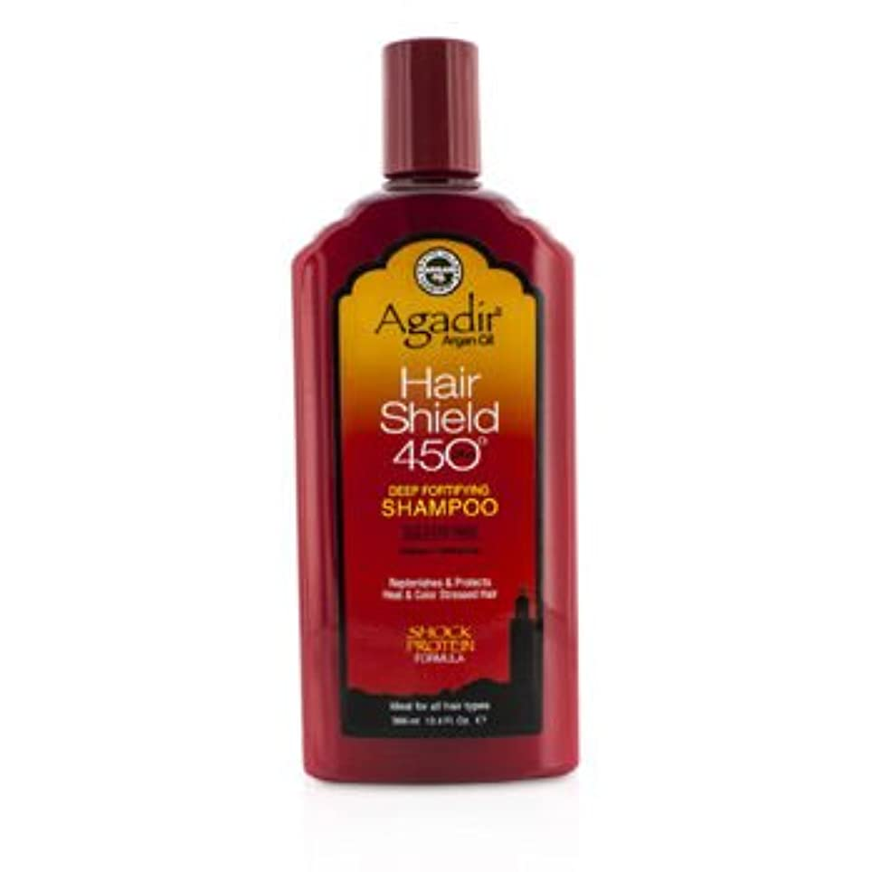 幾分簡潔な海嶺[Agadir Argan Oil] Hair Shield 450 Plus Deep Fortifying Shampoo - Sulfate Free (For All Hair Types) 366ml/12.4oz