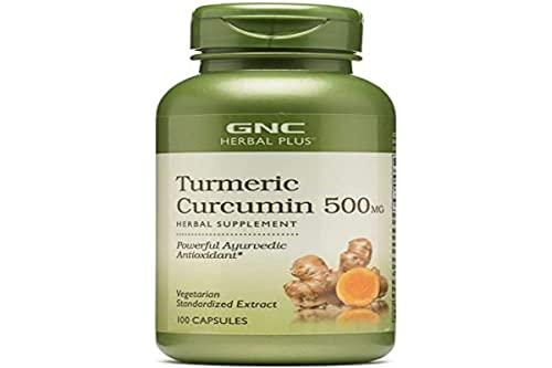 GNC Herbal Plus - Turmeric Curcumin 500mg 100...