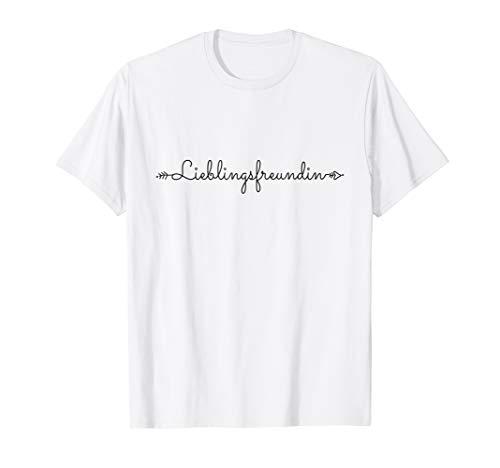 Lieblingsfreundin Beste Freundinnen Busenfreundin BFF Sister T-Shirt