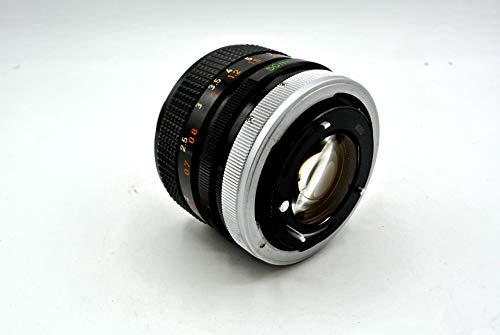 Canon 50mm f/1.4 FD Manual Focus Lens