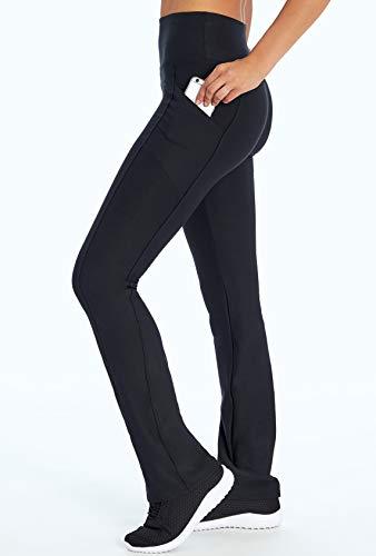 Marika Eclipse Tummy Control Bootleg Legging, Black, Medium