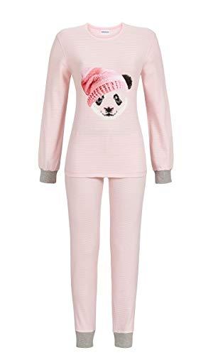 Ringella Damen Pyjama mit Bündchen nelke 50 9511229, nelke, 50
