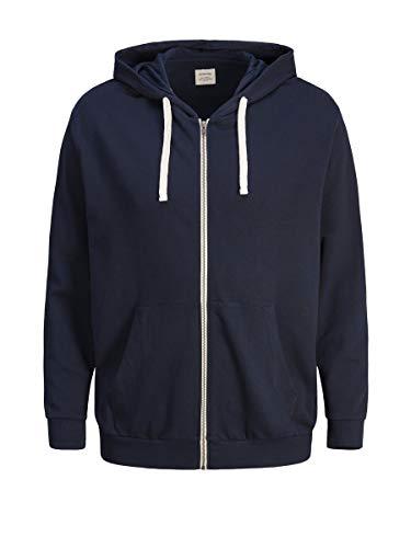 JACK & JONES Male Sweatshirt Bequemer LNavy Blazer