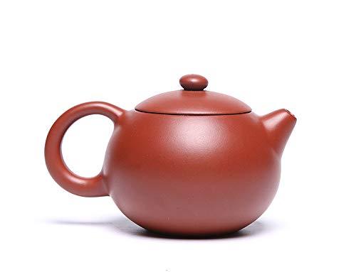 Qauick Yixing Teekanne, handgefertigt, Zisha-Teekanne, chinesischer Yixing, echter Ton, Zisha, Xishi Kanne, loser Tee (klein)