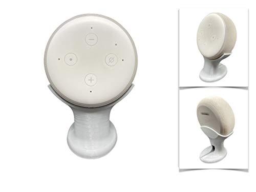 Suporte Apoio Stand De Mesa Amazon Alexa Echo Dot 3 (CINZA)