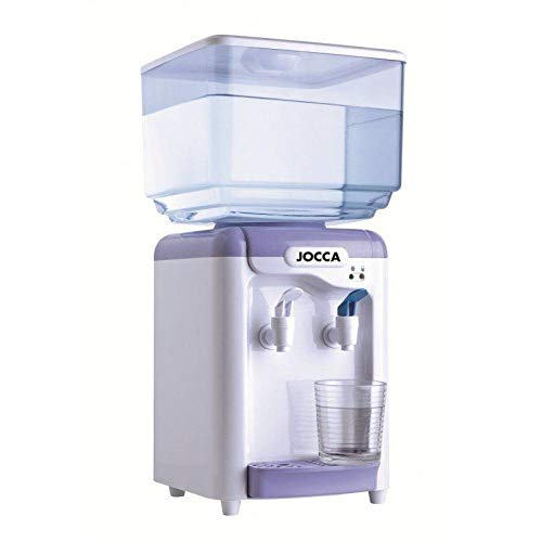 Jocca Dispensador de Agua con depósito, Blanco y Morado, 24.5 x 23 x 34 cm 🔥