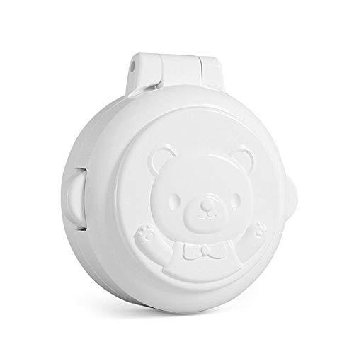 Interruptor de protección de Seguridad para niños eléctrico Botón Cubierta de protección de Seguridad para niños Bloqueo Anti-Switch Box Niños Anti-Haga Clic en Inicio de Coches 4PCS