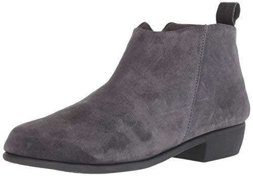 Aerosoles Women's Step IT UP Ankle Boot, Dark Gray Suede, 11 M US