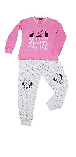 Sicem International Srl Pijama para niño y niña, de algodón, con personajes de varios modelos B2wd22995 Petalo 10 años