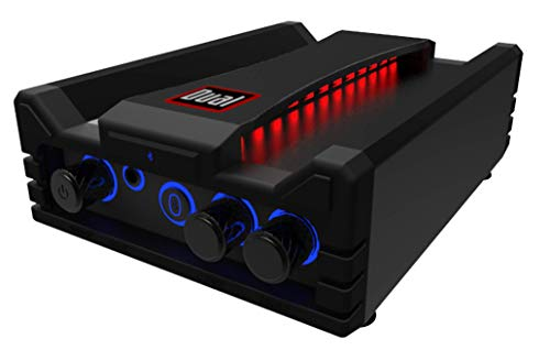 Dual Electronics DBTMA100 Micro Wireless Bluetooth 2 Channel Stereo Class-D Amplifier with | Universal Plug-In | Stereo RCA Outputs | 100 Watts Peak Power | Up to 100ft of Wireless Bluetooth Range