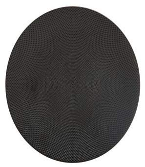 MAELSA 1 Assiette Plate Caviar Noir 27CM
