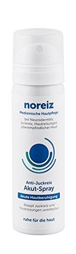 noreiz Anti-Juckreiz Akut-Spray · schnelle Hilfe bei Neurodermitis, Juckreiz, Hautreizungen mit Thiocyanat · MADE IN GERMANY (50 ml)