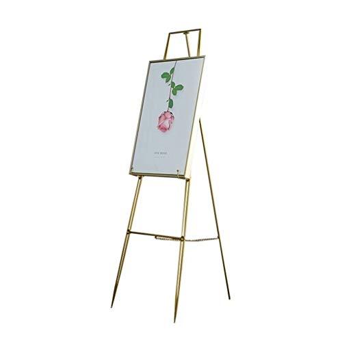 Nai-tripod Zhou Garten-Ölgemälde-Bracket, Parlor Dekorative Gemälde Schmiedeeisen-Ausstellungsstand, Außen Stand-Open Air-Hochzeit Plakatständer yan (Size : 40 * 60 * 115cm)