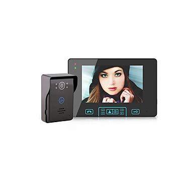 LDQLSQ Factory OEM Kabellos Eingebauter Lautsprecher 7 Zoll Freisprechanlage 800 * 480 Pixel One to One-Video-Türsprechanlage