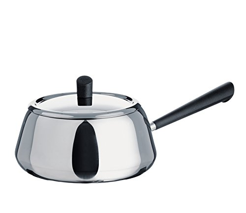 Spring 2624100618 Classic fondue-pan, roestvrij staal, zilver, 15 x 27 x 28,2 cm