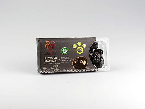 Ajwa of Medina Datteln - Ajwa Datteln - 200 Gramm - Premium Qualität - Ohne Konservierungsmittel und Zusatzstoffe - 100% natürlich - Frische Datteln - Datteln Bio