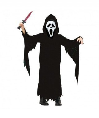 Partilandia Disfraz Asesino Scream Infantil(7-9 años) 20033
