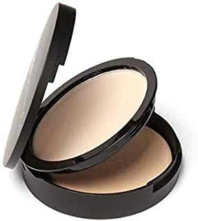 Weightless Press Face Powder 0il Control Natural Foundation Powder 3 Colors Smooth Finish Concealer Setting Powder (#1 light beige)