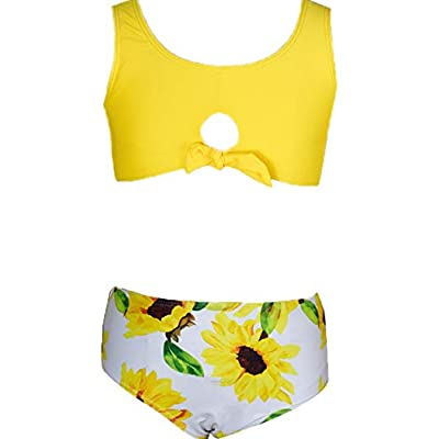 Macool Little Girls Bikini Toddler Kids Swimsuits Baby Beach Swimwear 2 Piece Swimsuit