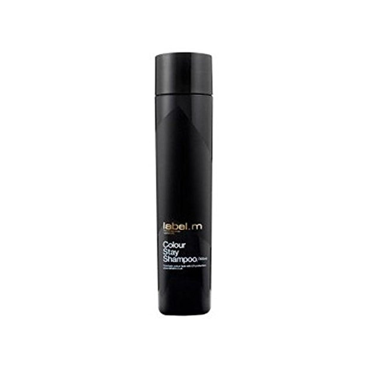 十億橋脚十代.カラーステイシャンプー(300ミリリットル) x2 - Label.M Colour Stay Shampoo (300ml) (Pack of 2) [並行輸入品]