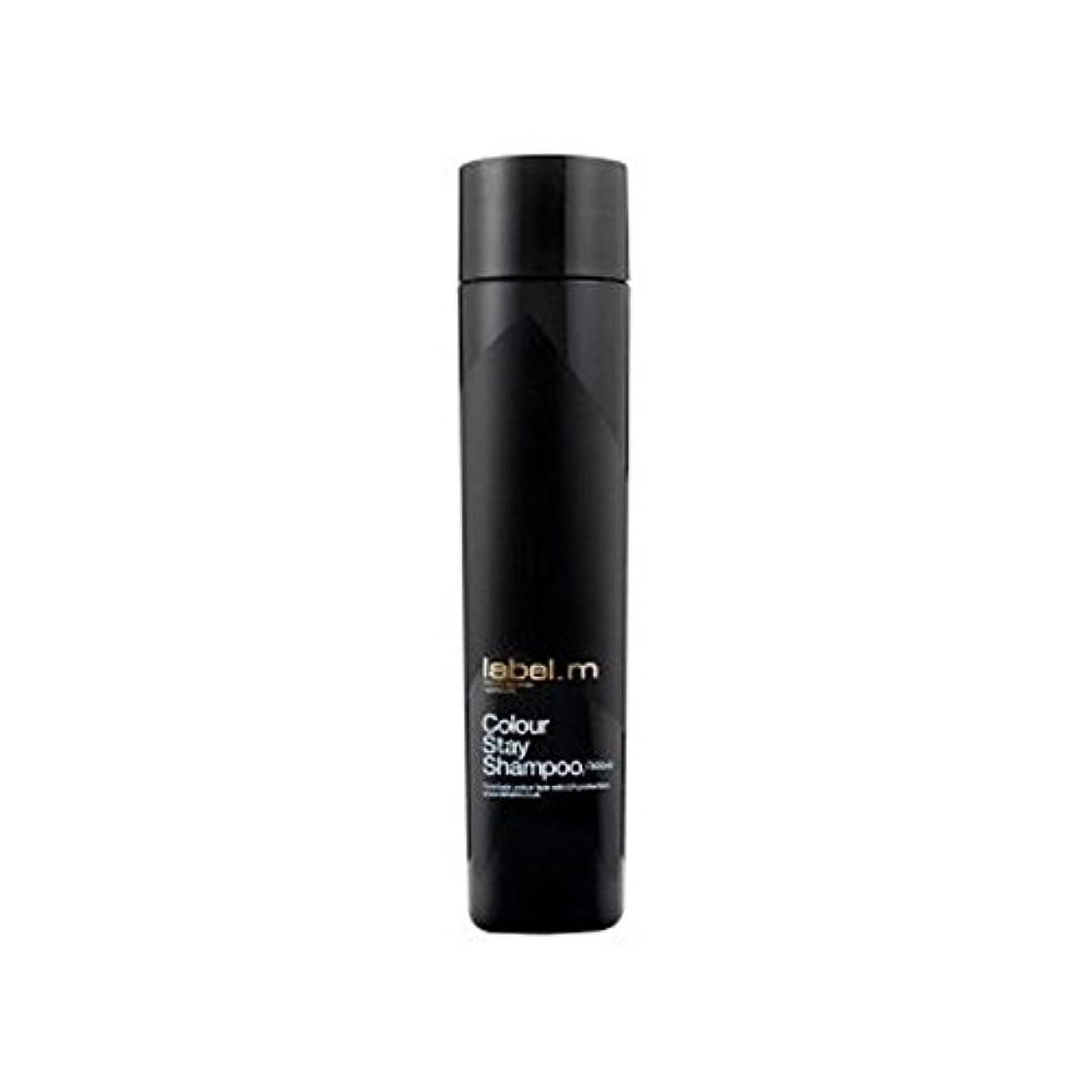 傾斜素敵な私Label.M Colour Stay Shampoo (300ml) (Pack of 6) - .カラーステイシャンプー(300ミリリットル) x6 [並行輸入品]