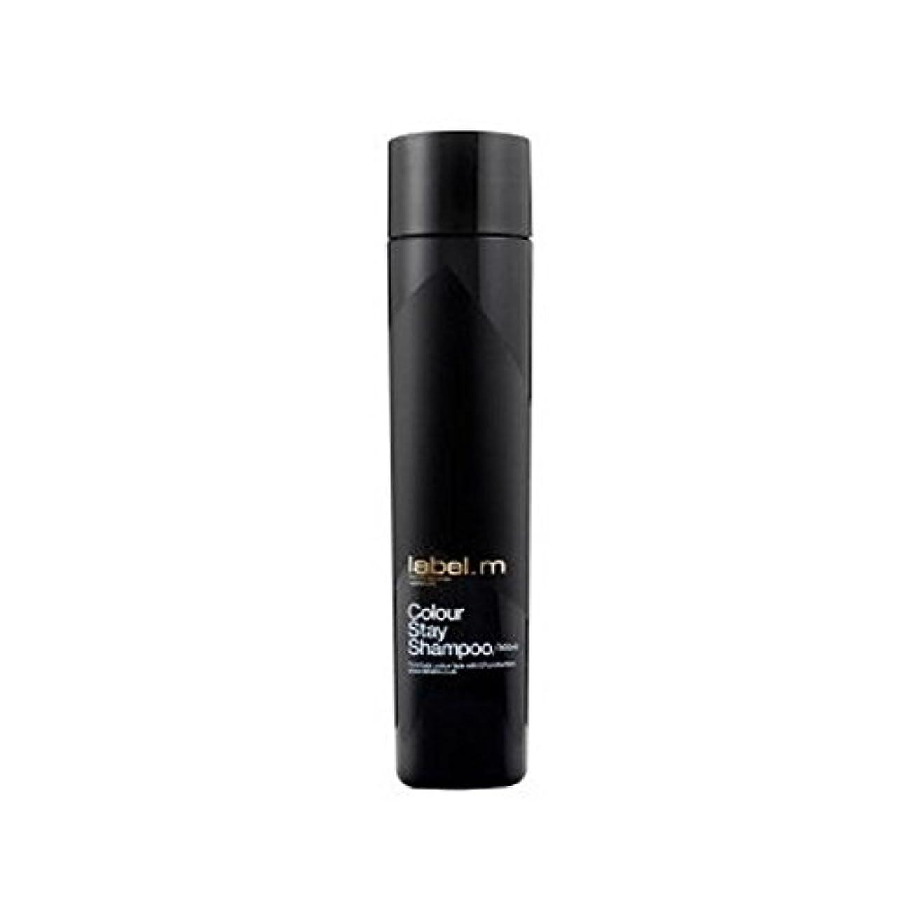 トライアスリートランチスポーツをするLabel.M Colour Stay Shampoo (300ml) - .カラーステイシャンプー(300ミリリットル) [並行輸入品]