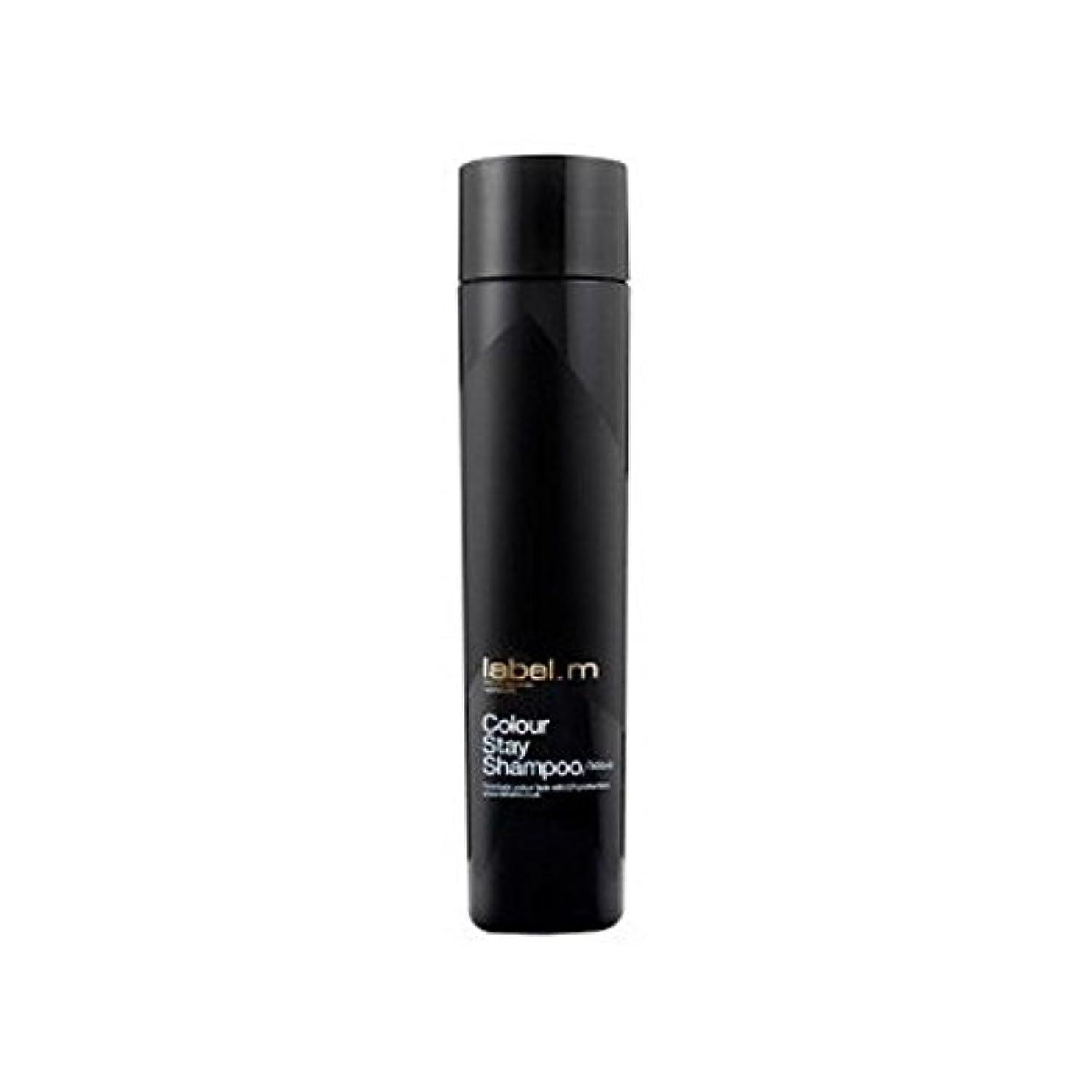 卒業記念アルバム通り抜ける調停する.カラーステイシャンプー(300ミリリットル) x2 - Label.M Colour Stay Shampoo (300ml) (Pack of 2) [並行輸入品]