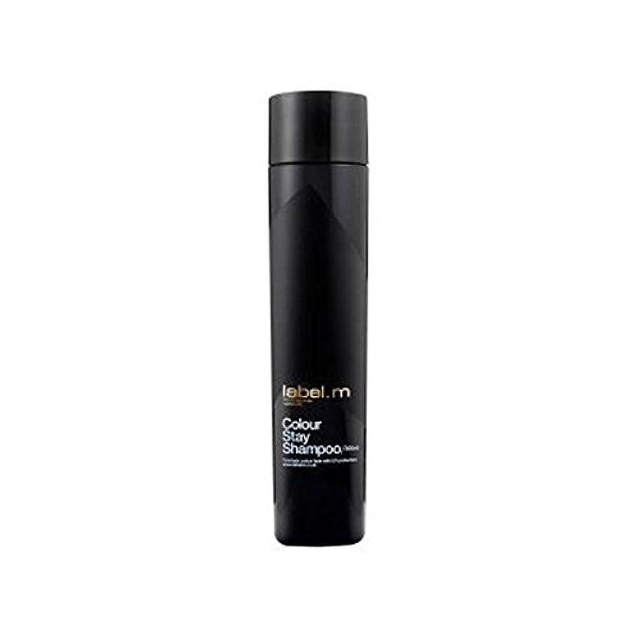 絶滅させる知覚Label.M Colour Stay Shampoo (300ml) (Pack of 6) - .カラーステイシャンプー(300ミリリットル) x6 [並行輸入品]