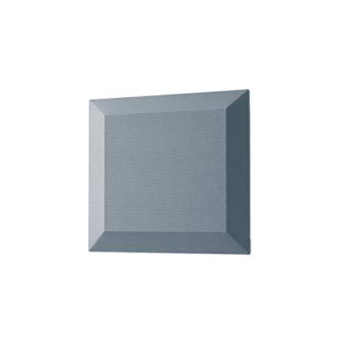 SIGEL SB100 Akustik Wandfliesen Schallabsorber dunkelgrau, Stoffoberfläche, Polyestervlies-Kern, 40x40x4,2 cm, 2 Stück