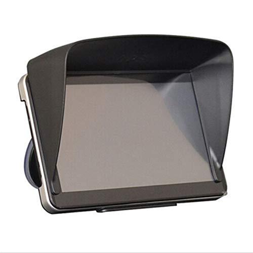 Nuevo 1 PC Visera de sombrilla de GPS Negra de 1 PC para navegador de 7 Pulgadas GPS Cara Professional Sun Shade Anti Reflectante GPS Pantalla de Visor Hood Sun Shade Sombra por FENGL DERIVADO