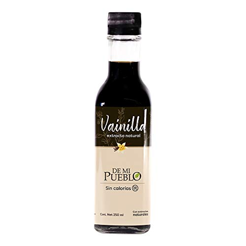 Extracto de Vainilla Orgánica 100% Natural (Sin Azúcar) 250 ml