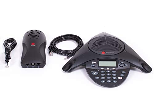 Polycom SoundStation 2 EX Audio Conference Phone, No Mics (2200-16200-102) - (Generalüberholt)