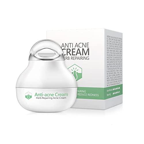 Tumnea Crema para el acné, Crema Anti-espinillas, Crema para Eliminar el acné, Crema para Eliminar Las espinillas del acné a Base de Hierbas Control de Aceite Cuidado Facial Delicado calmante