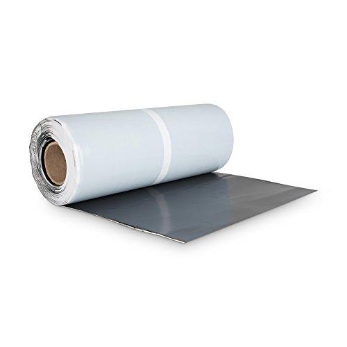 BMD Walzblei 300 mm x 5 lfm. schwarz (RAL 9005) Blei Color farbig selbstklebend Wandanschlussband Kaminanschlussband Aluflex Dachrolle