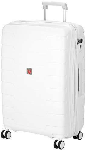 [ロンカート] スーツケース SKYLINE 保証付 80L 3.5kg ホワイト