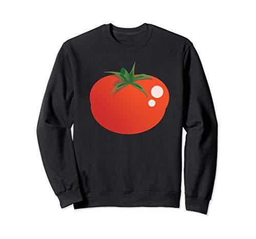 Disfraz de emoji de dibujos animados de tomate Sudadera