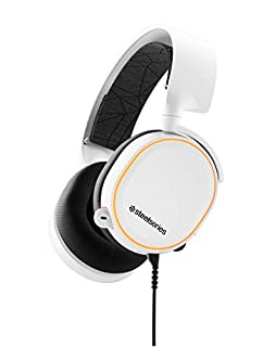 SteelSeries Arctis 5 - RGB Illuminated Gaming Headset with DTS Headphone: X v2.0 Surround - for PC and PS5/PS4 - White (B07FZW37YS) | Amazon price tracker / tracking, Amazon price history charts, Amazon price watches, Amazon price drop alerts